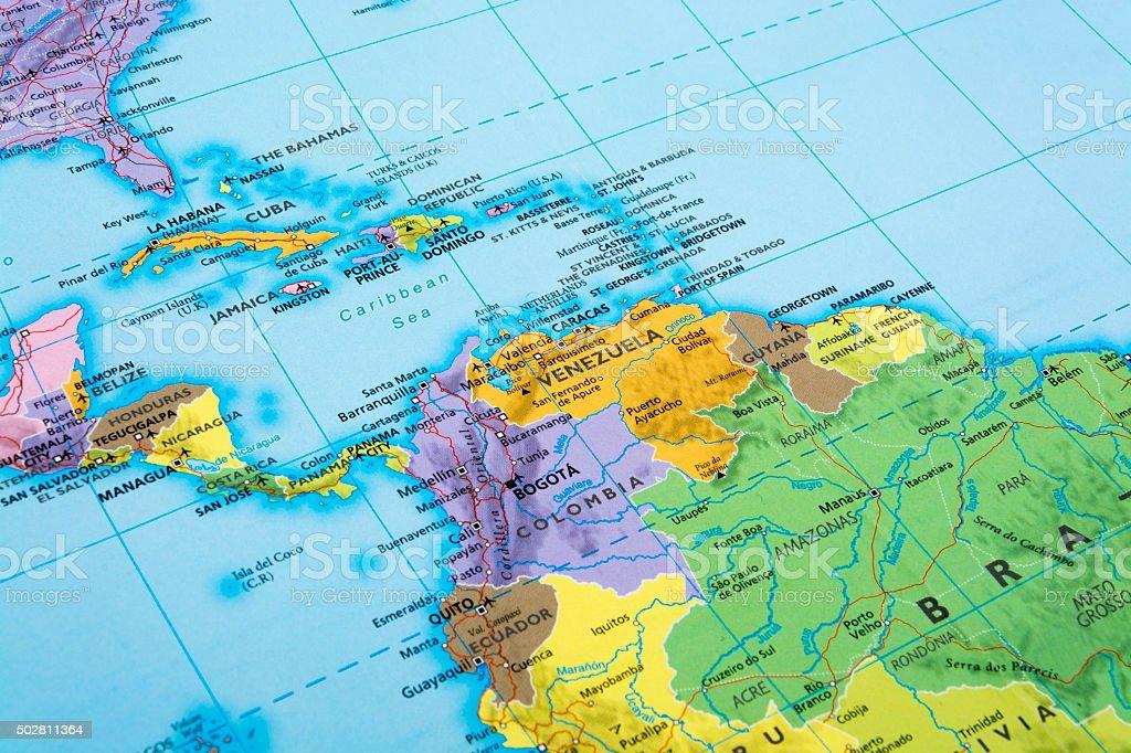 América Central - foto de acervo