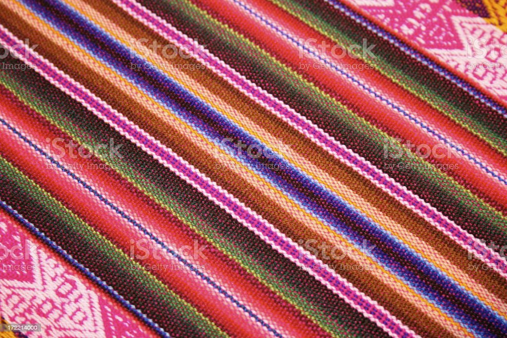 central american fabric royalty-free stock photo
