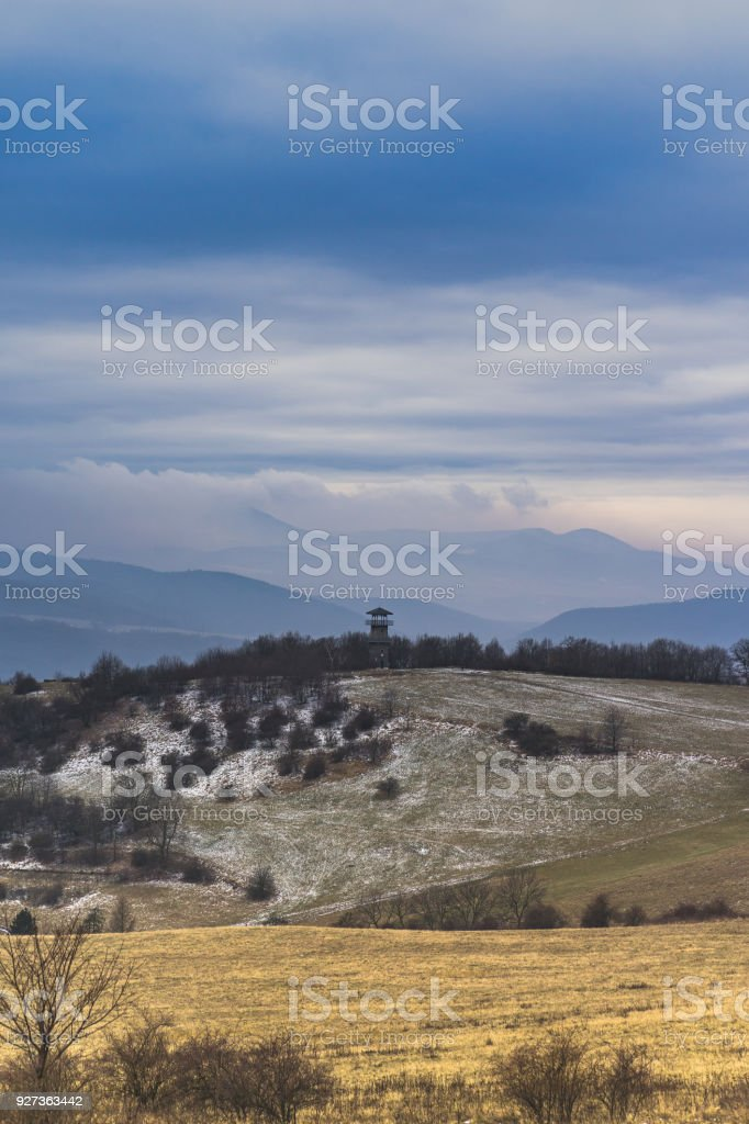Central Bohemian Highlands stock photo