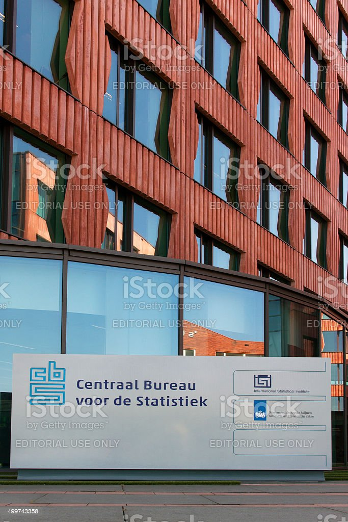 Central Bureau of Statistics CBS stock photo
