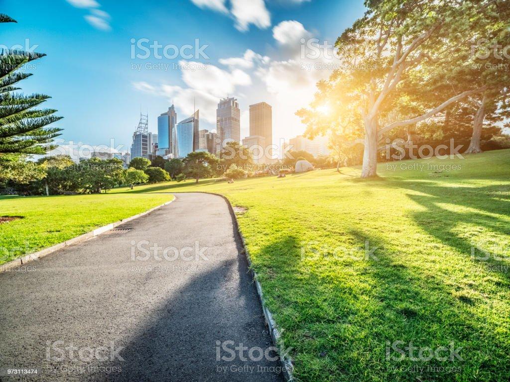 zentraler Geschäft Bezirk von Sydney am Tag – Foto