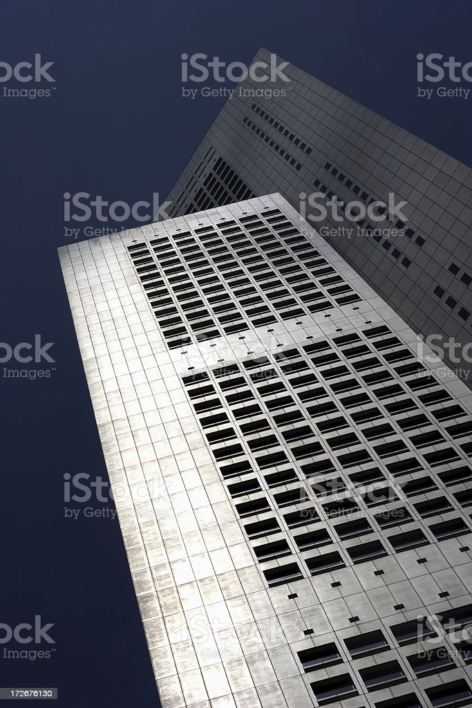 Central Business District, Singapore: Raffles Place royalty-free stock photo
