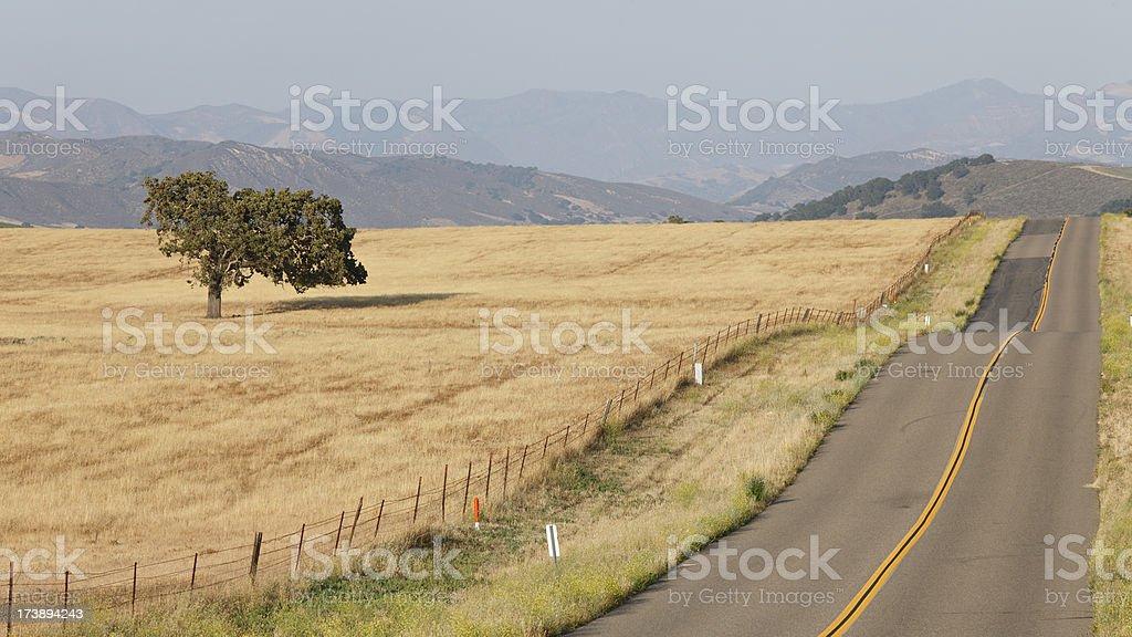 Central California Landscape stock photo
