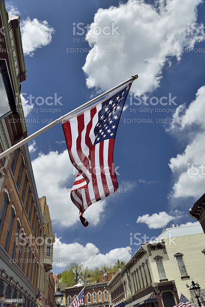 Central City, Colorado stock photo