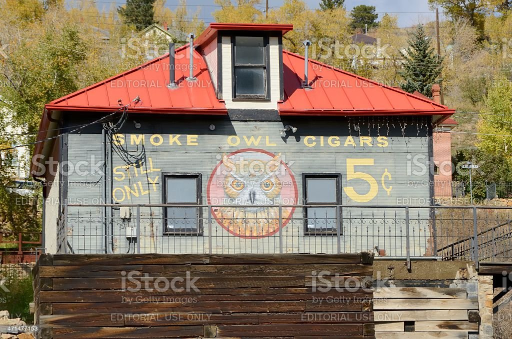 Central City, Colorado royalty-free stock photo