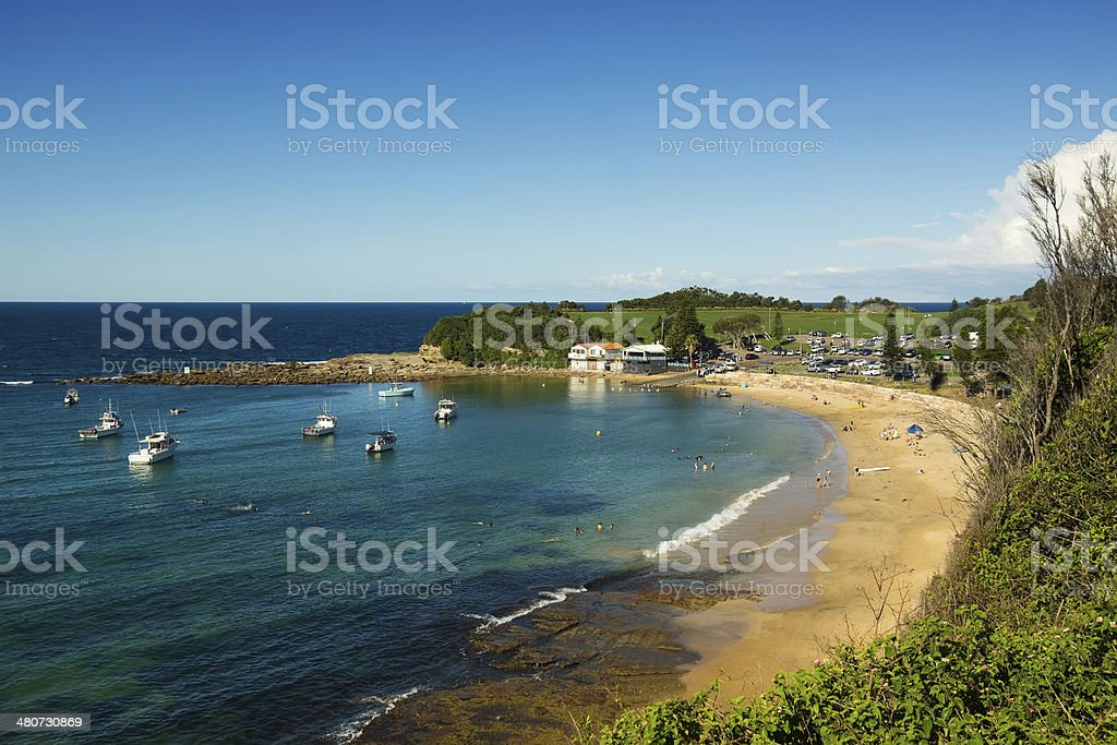 Central Coast - Terrigal Beach stock photo
