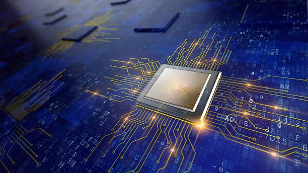 セントラルコンピュータプロセッサ - 半導体 ストックフォトと画像
