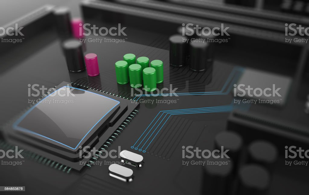Central Computer Processors CPU concept stock photo