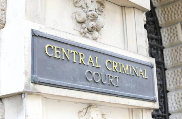 Central Criminal Court London UK stock photo