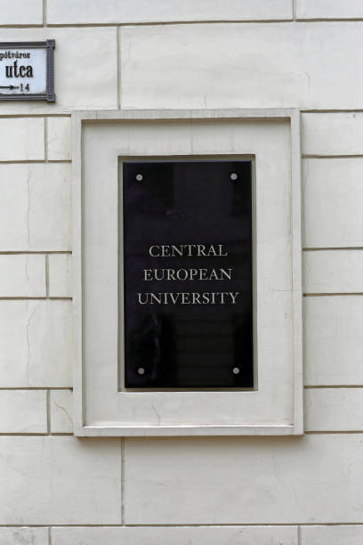 Central European University Plaque – Foto