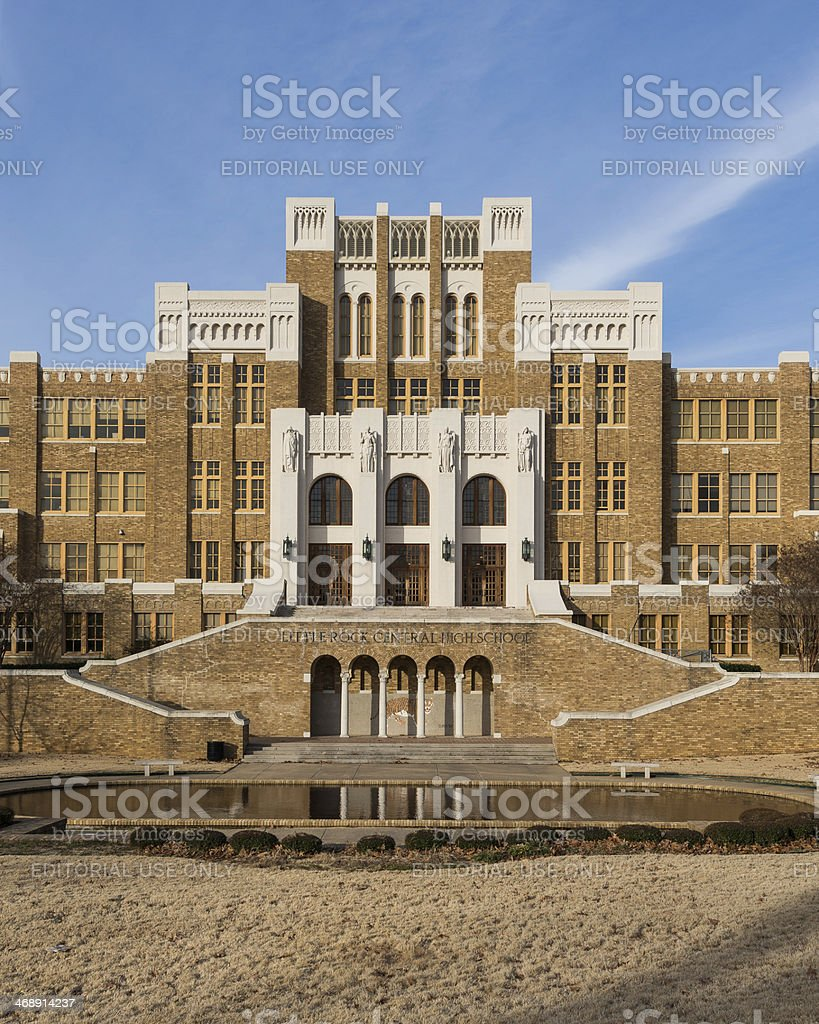 Central High School royalty-free stock photo