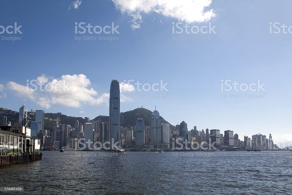 Central, Hong Kong stock photo