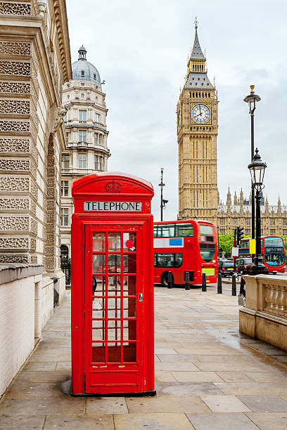 Central London, England stock photo