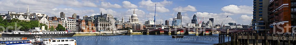 Central London panorama royalty-free stock photo