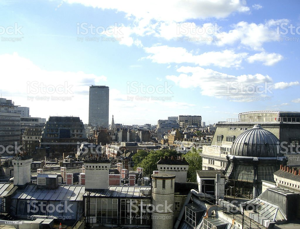Central London stock photo