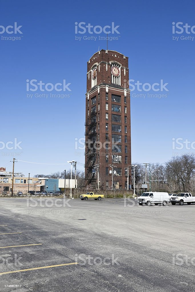 Central Manufacturing District Tower in Chicago royalty-free stock photo