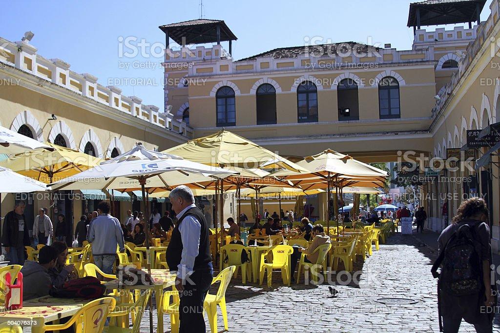 central market 5 stock photo