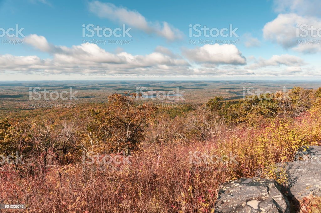 Central Massachusetts seen from Wachusett Mountain State Reservation - Royalty-free Autumn Stock Photo
