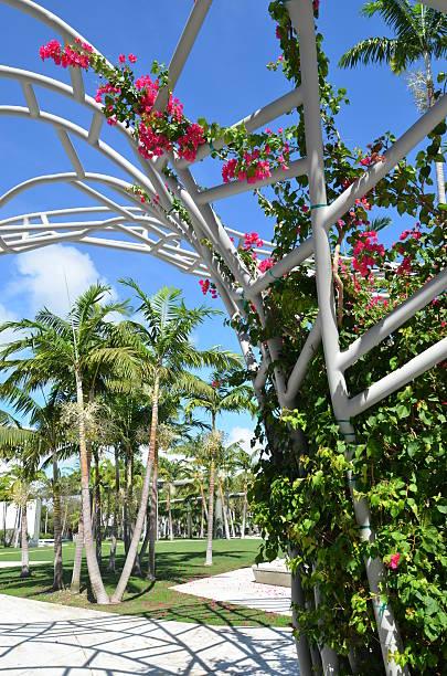 Central Miami Beach City Center stock photo