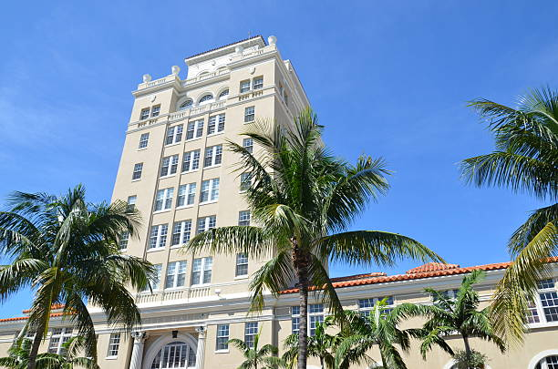 Central Miami Beach stock photo