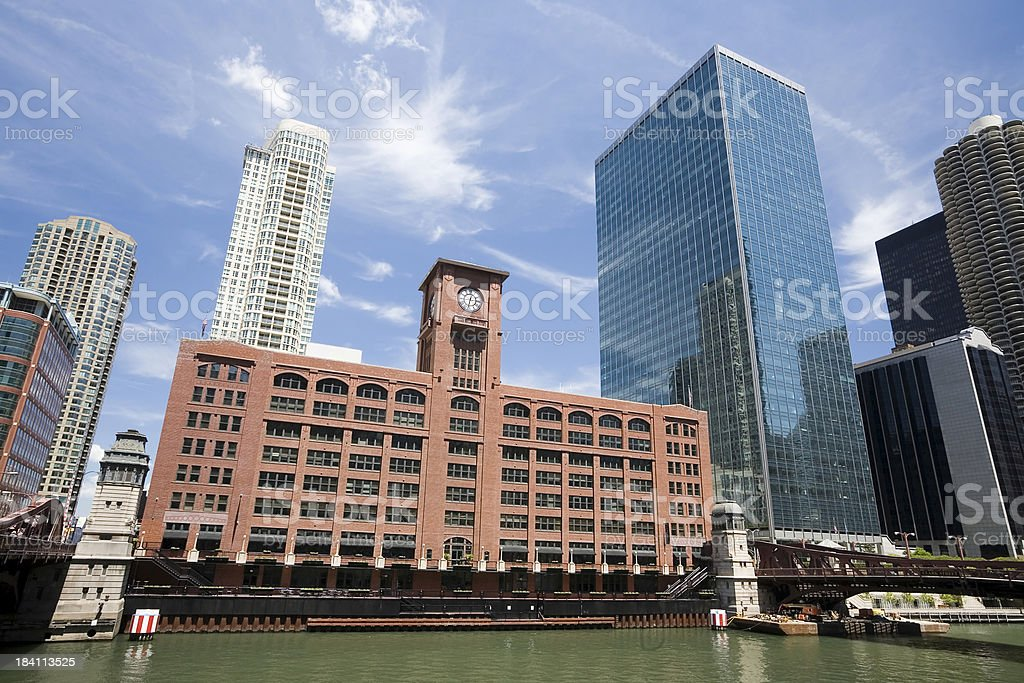 Central Office Building, Chicago royalty-free stock photo
