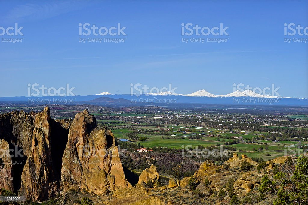 Central Oregon Tranquillity stock photo