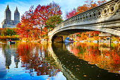 Bow Bridge and San Remo at autumn