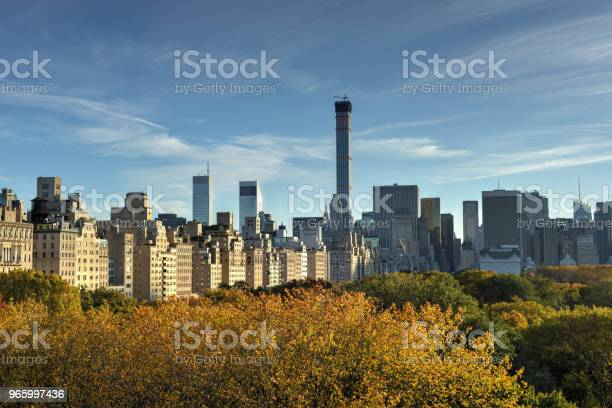 Central Park Autumn New York Stock Photo - Download Image Now