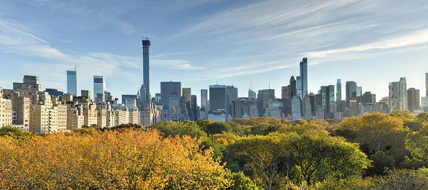 Central Park Hösten New York-foton och fler bilder på Arkitektur