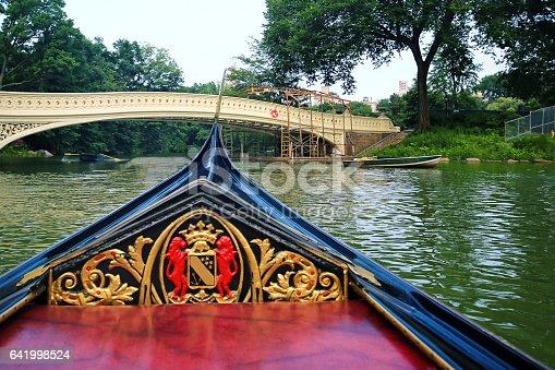 Gondola Ride through Central Park