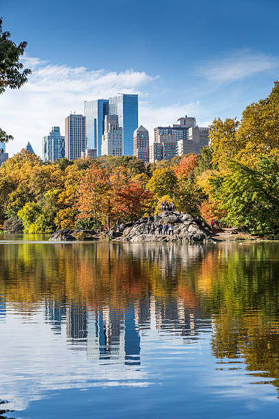 Central Park in New York City im Herbst – Foto