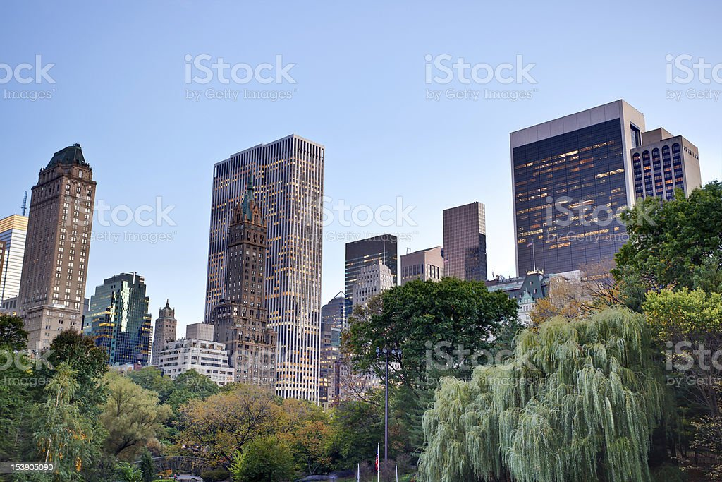 Central Park in New York City royalty-free stock photo