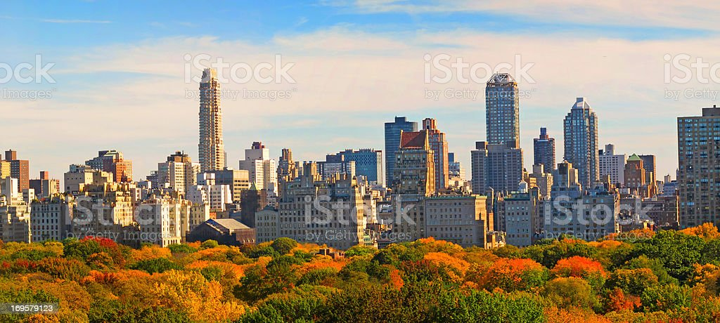 Central Park im Herbst-New York, USA – Foto