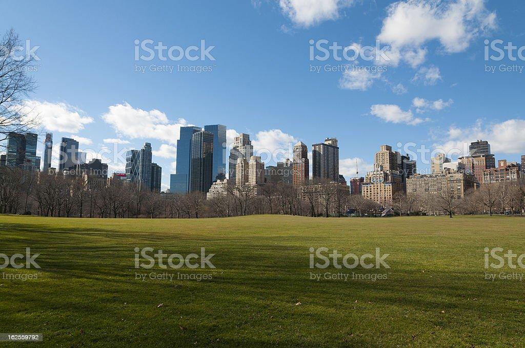 Central Park, New York City royalty-free stock photo