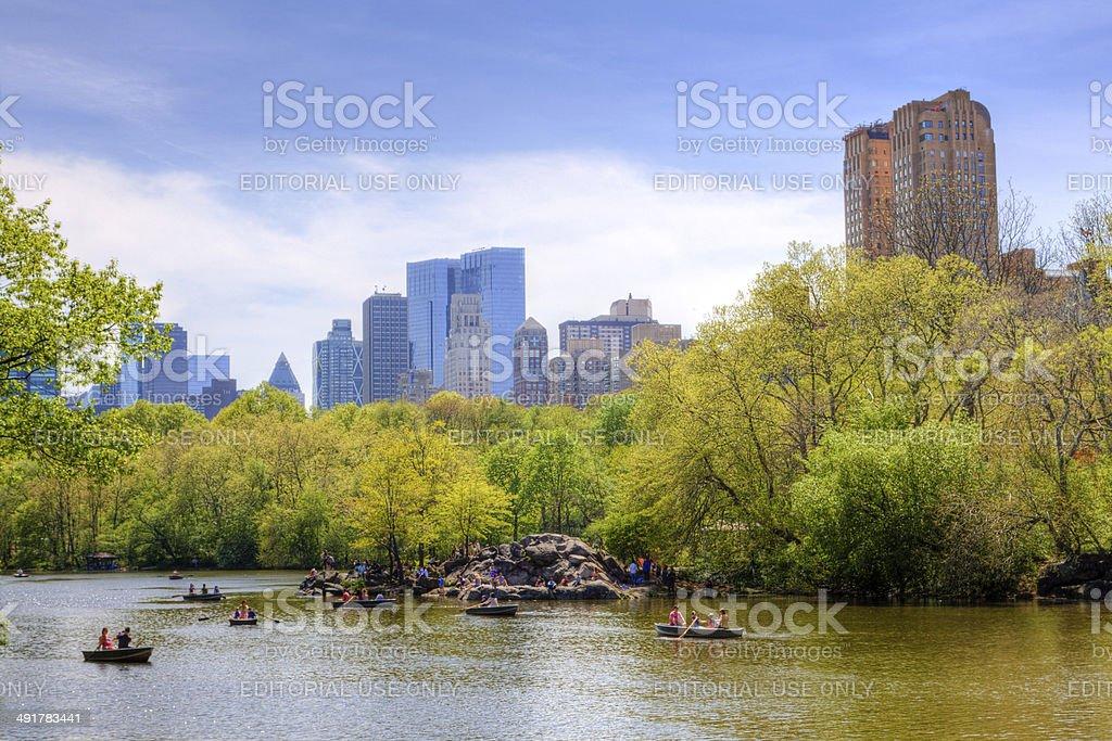 Central Park, New York City. royalty-free stock photo