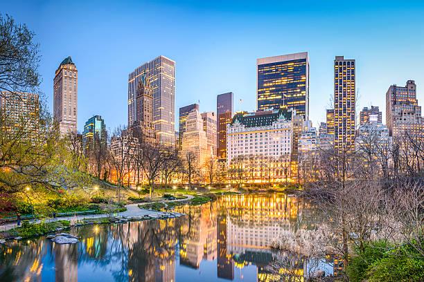 central park, nowy jork - central park manhattan zdjęcia i obrazy z banku zdjęć