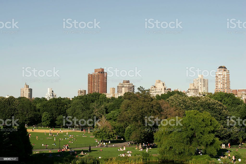 Central Park - New York City royalty-free stock photo