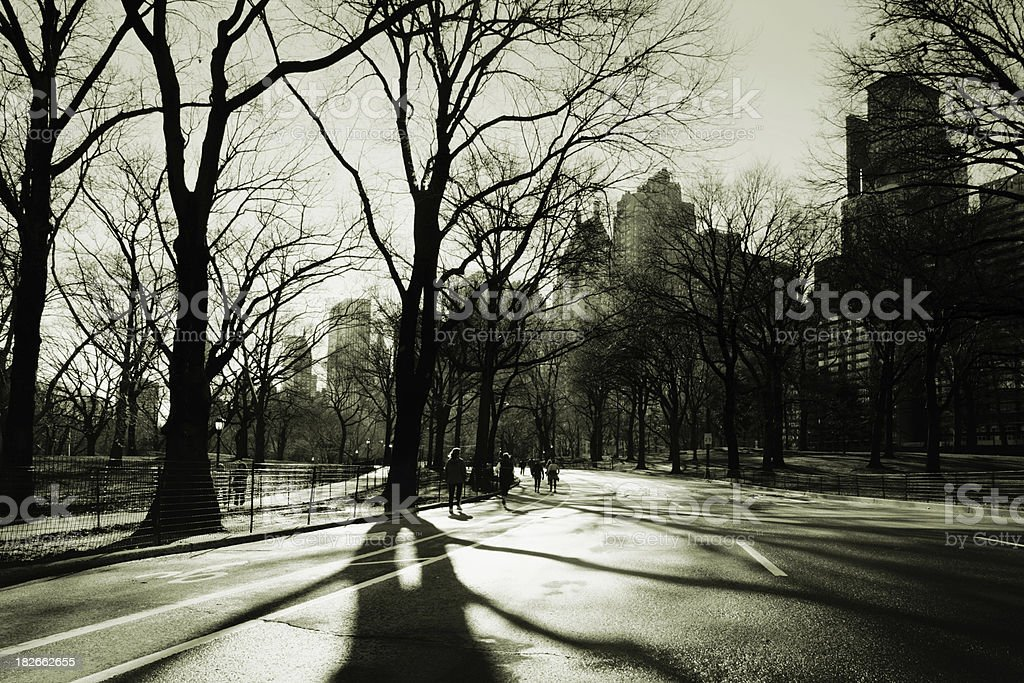 Central park, NY royalty-free stock photo