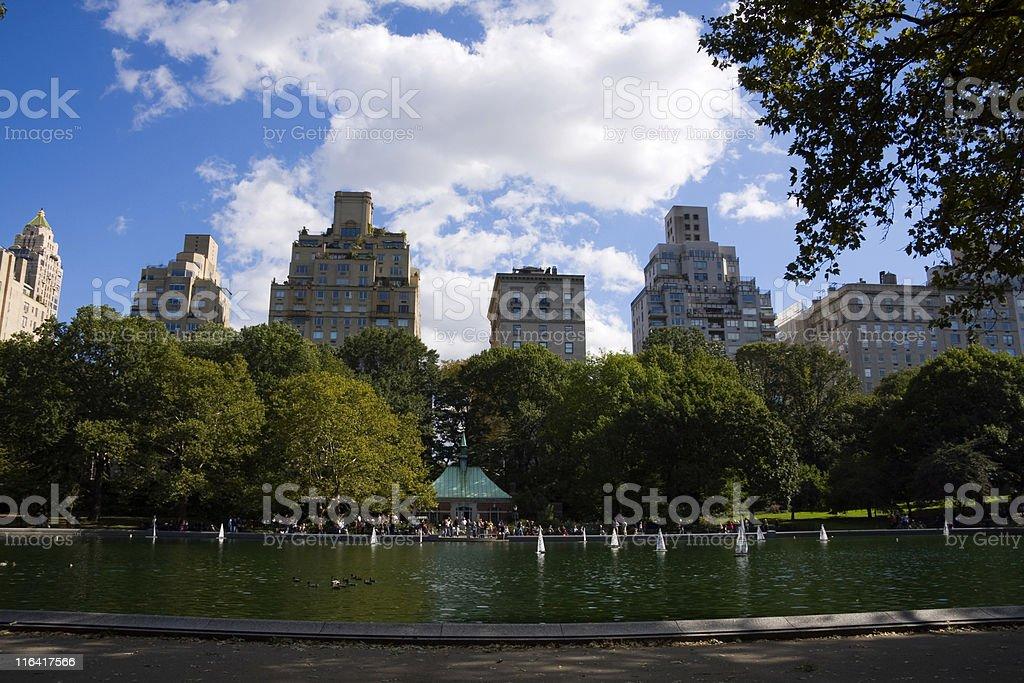 Central Park - foto de acervo