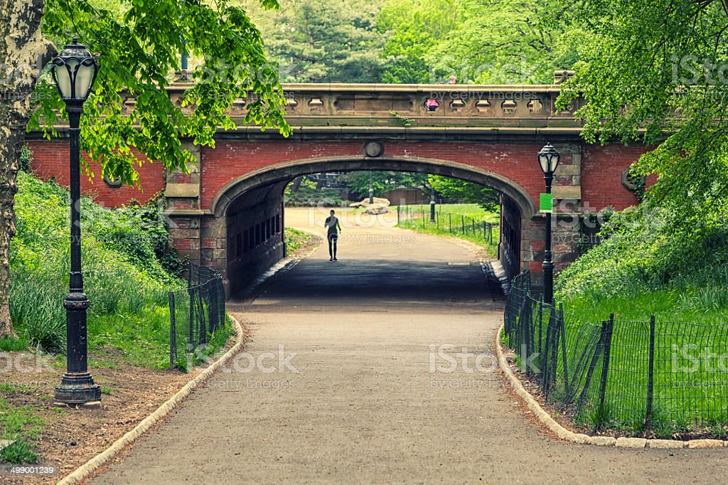 Central Park stock photo