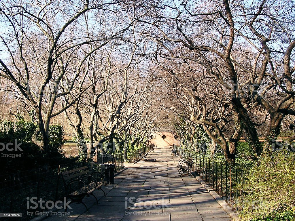 central park scenery 2 royalty-free stock photo