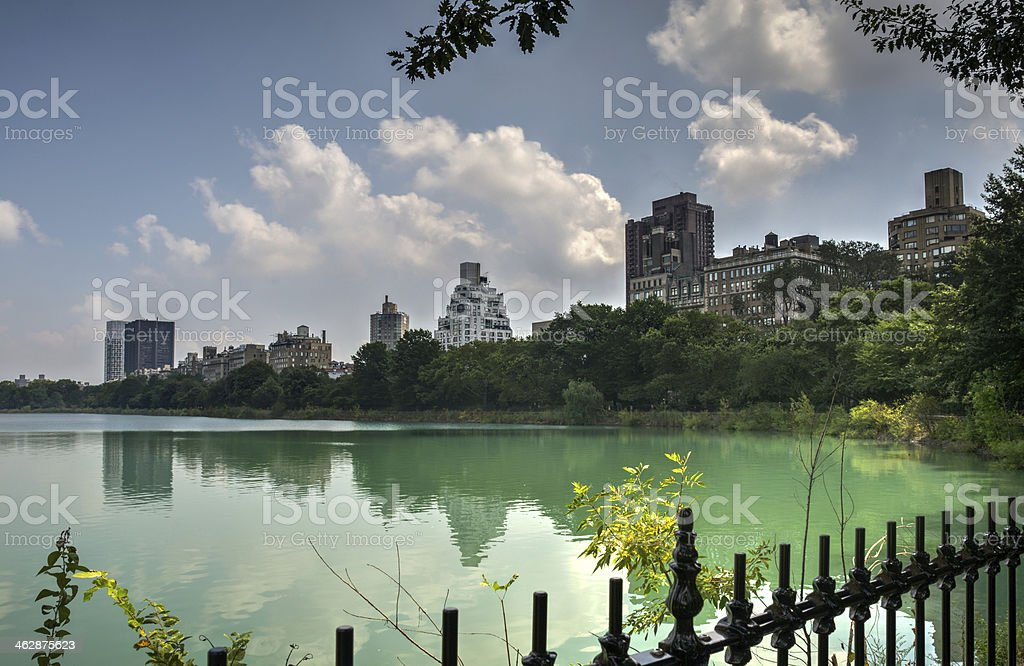 Central Park Scenic royalty-free stock photo