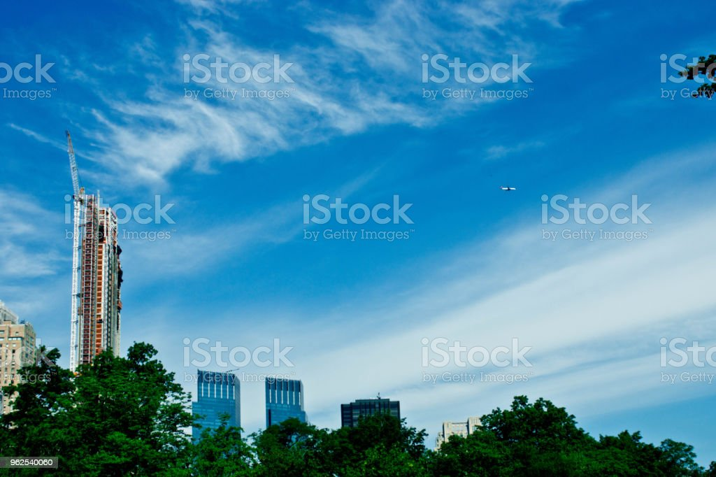 Central Park Skyscrapers - Royalty-free Amusement Park Stock Photo