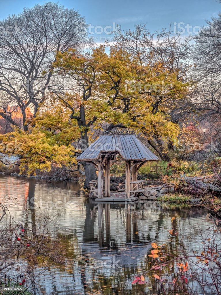 Central Park, Wagner Cove royalty-free stock photo