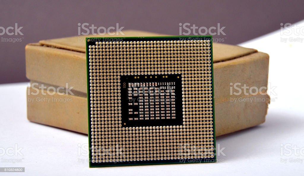 CPU central processor unit stock photo
