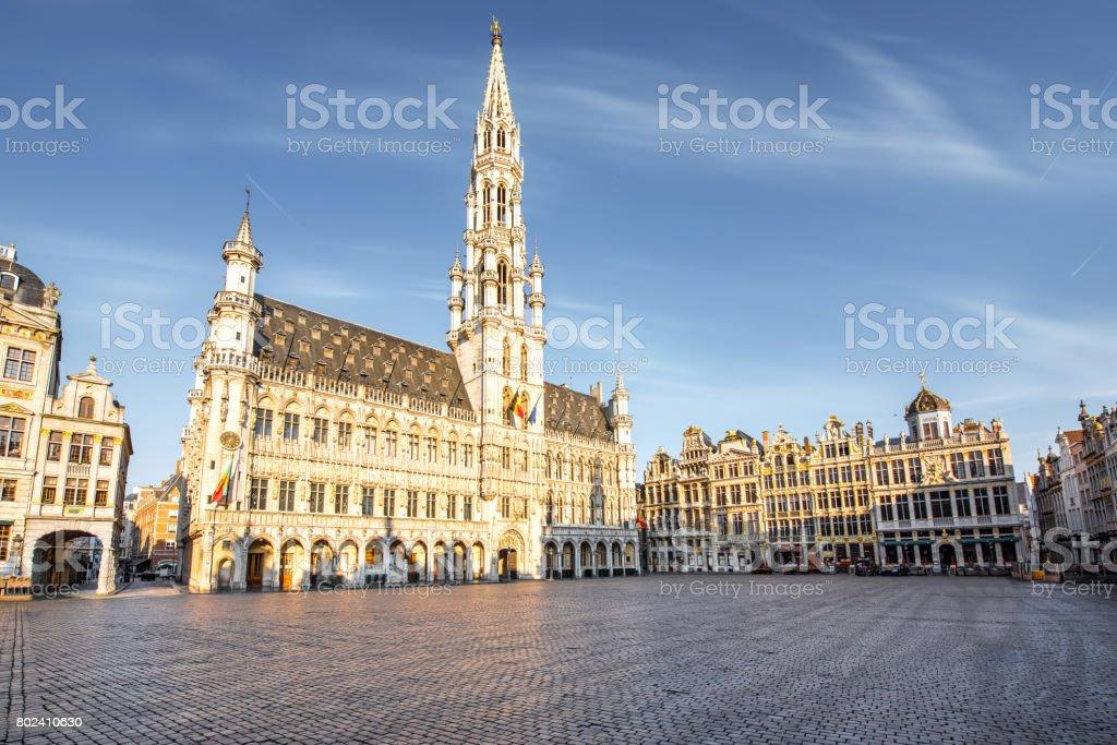 Place centrale dans la ville de Bruxelles - Photo