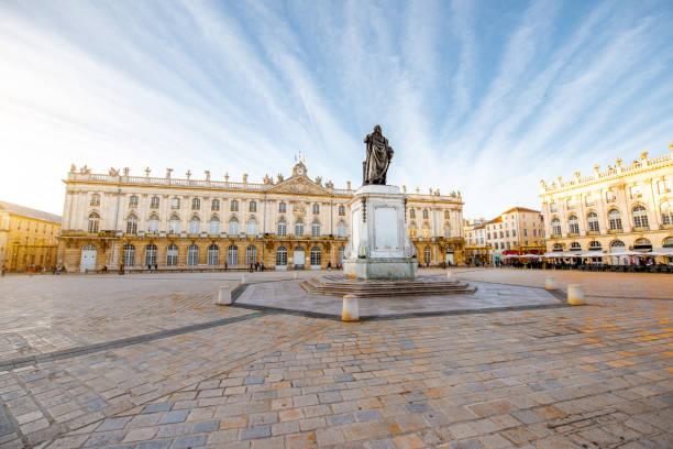 Hauptplatz in der Altstadt von Nancy, Frankreich – Foto