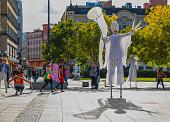 istock Central square of Ostrava city 1266571377