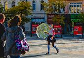 istock Central square of Ostrava city 1266605567