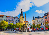 istock Central square of Ostrava city 1266605579
